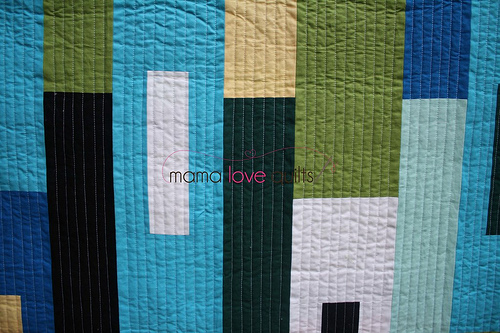 hubby's quilt_close up