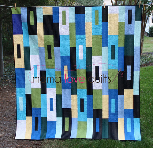 Hubby's quilt_finished