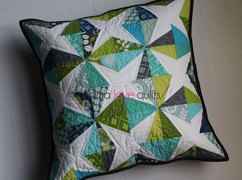 Modern She Made Swap 2 - Pillow