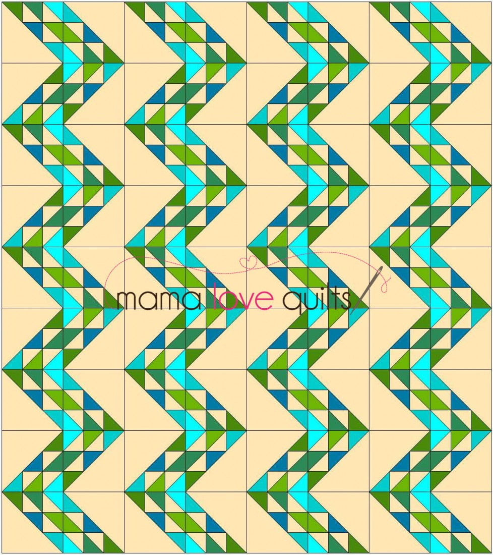 Tutorial: ?Birds in the Air? Quilt Block Mama Love Quilts