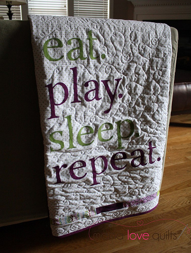 baby life quilt_words