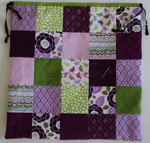 Baby Life Quilt bag