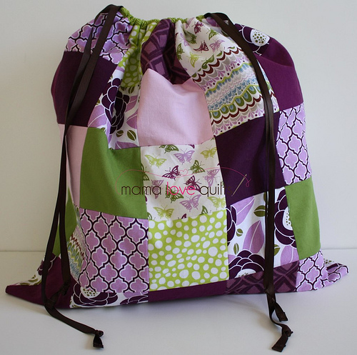 Baby Life Quilt and bag