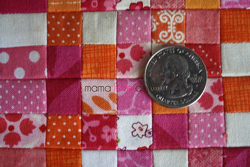 Dollhouse quilt_top