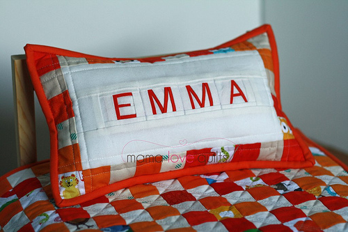 Emma's pillow