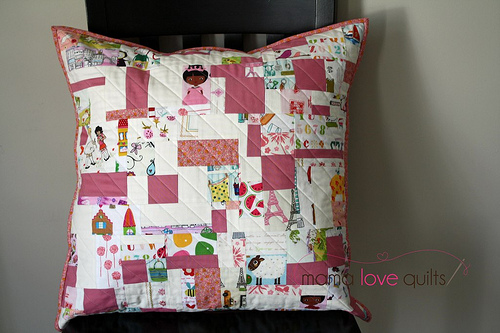 I-spy pillow