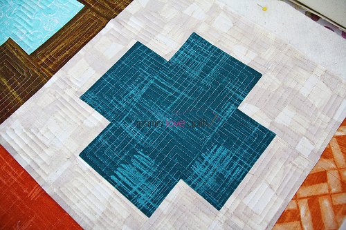 Charity quilt_quilting