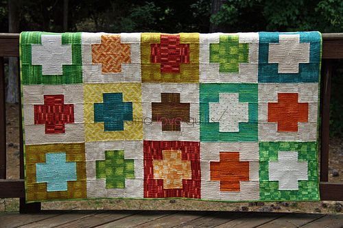 Charity quilt_hanging