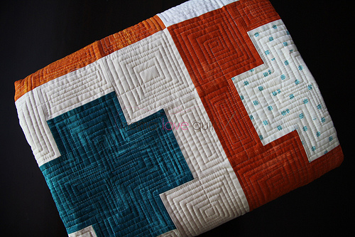 Charity quilt_folded