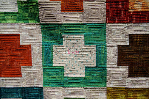 Charity quilt_closeup