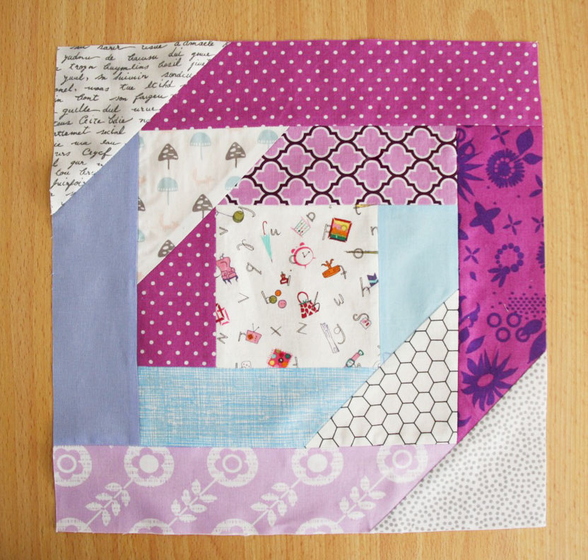 That Stash Bee_September 2014_Pineapple Blossom Block_2