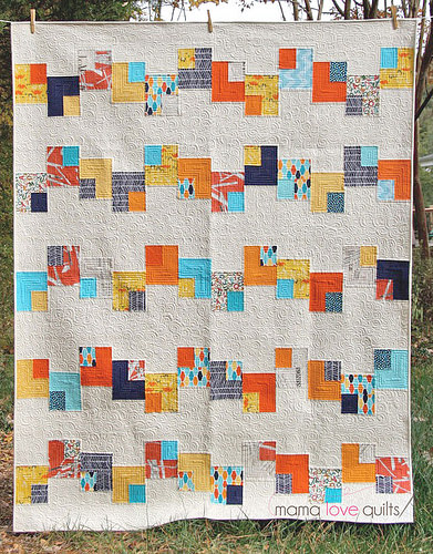 Playing cards quilt_Finished
