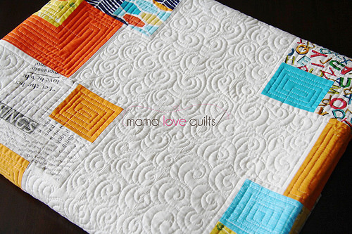 Playing cards quilt_folded