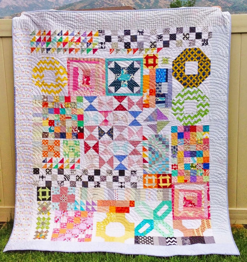 Top 10 ways to use orphan blocks mama love quilts for Kitchen quilting ideas
