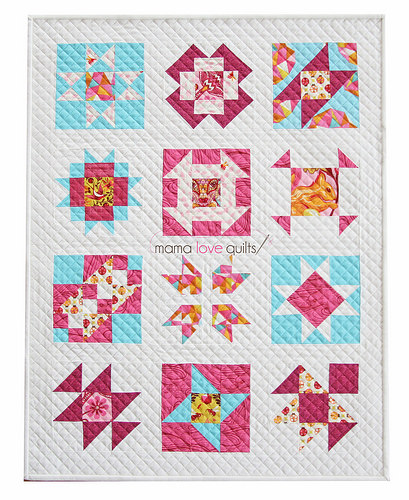 IG Mini Quilt Swap Sampler