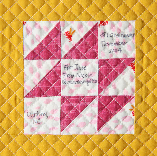 IG Mini Quilt Swap Sampler_label