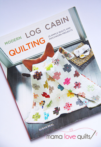 Modern Log Cabin Quilting book