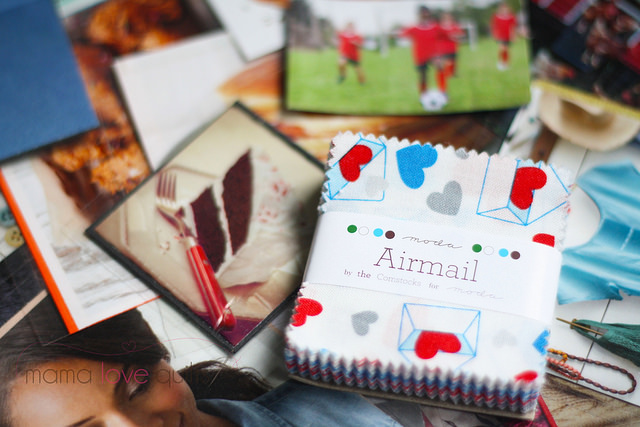 Airmail mini charm pack