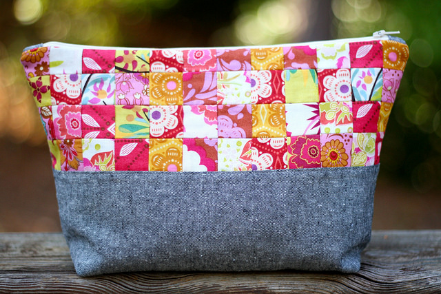 Mama Love Quilts_Patchwork Pouch