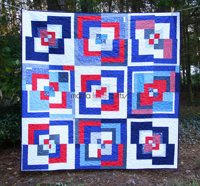 Triangle MQG Charity Quilt