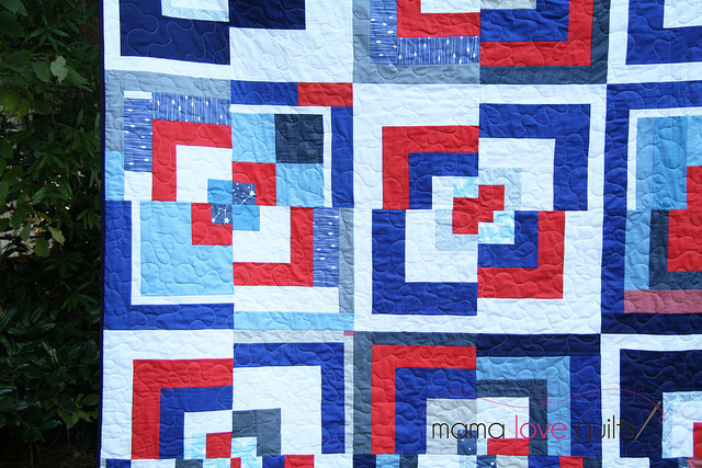 Triangle MQG Charity Quilt2