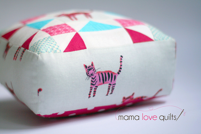 Tiger Pincushion_Side View