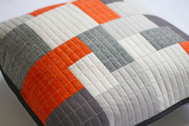 Quilted Pillow_quilting