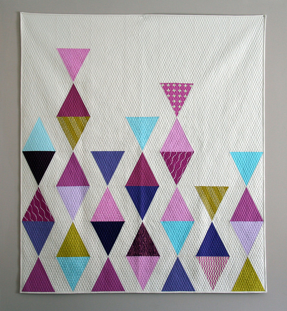Balanced triangles quilt
