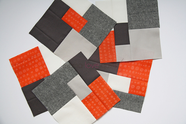 Quilt pillow blocks