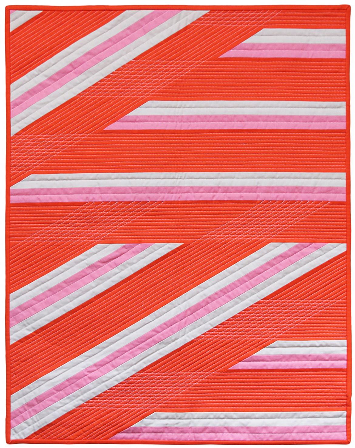 Helix Modern Quilt by Nicole Neblett
