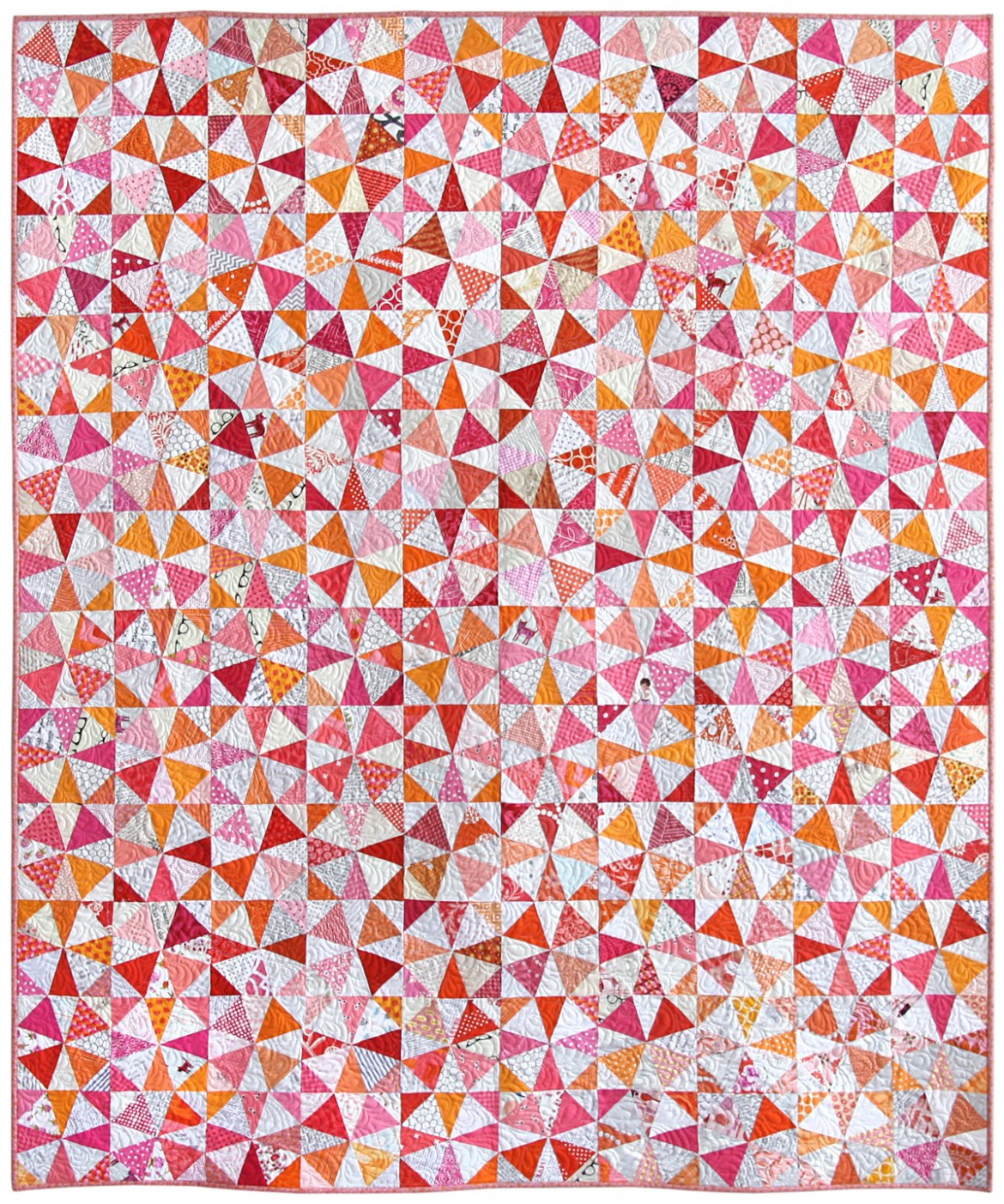 Kaleidoscope Modern Quilt by Nicole Neblett