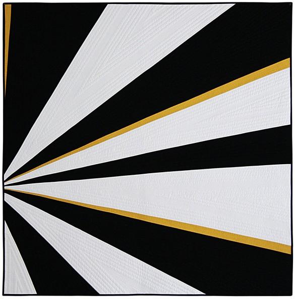 Sliced Modern Quilt by Nicole Neblett